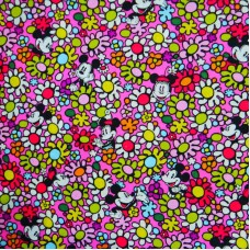Special Disney Vera Bradley fabric Remnant 100% Cotton Just Mousing Around Lining 1 Yard