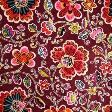 2015 New Patterns Vera Bradley fabric  Remnant 100% Cotton  1 Yard