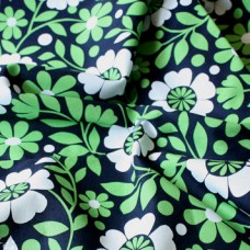 2015  Vera Bradley fabric LUCKY YOU  Remnant 100% Cotton  1 Yard
