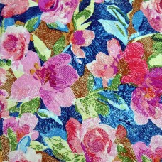 Vera Bradley Superbloom Fabric Remnant 100% Cotton 1 Yard