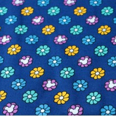 Vera Bradley Mickey and Minnie Mouse Disney lining fabric Remnant 100% Cotton  1 Yard