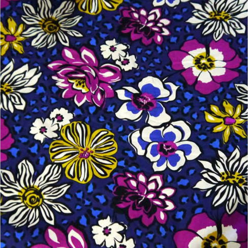 40 New Patterns Vera Bradley Fabric AFRICAN VIOLET Remnant 40 Impressive Vera Bradley Pattern Names