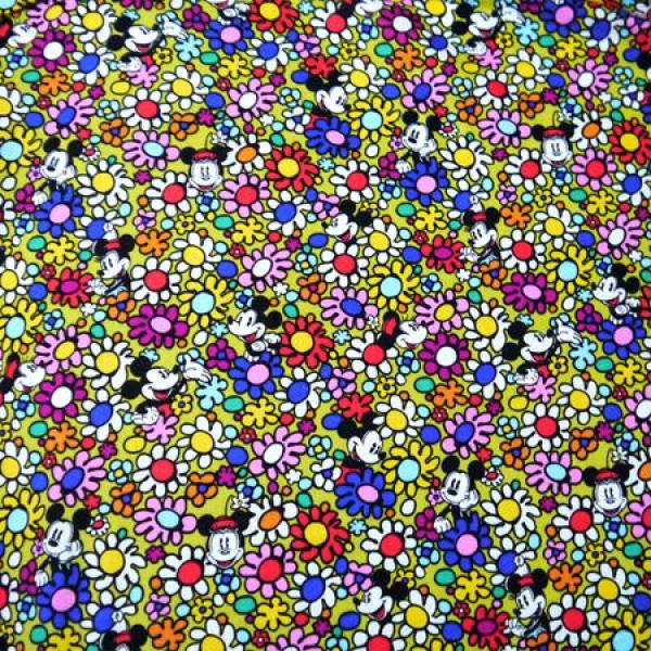 Special Disney Vera Bradley fabric Remnant Lining 100% Cotton  1 Yard
