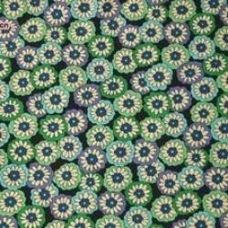 Vera Bradley fabric Remnant 100% Cotton Blue Rhapsody Lining 1 Yard