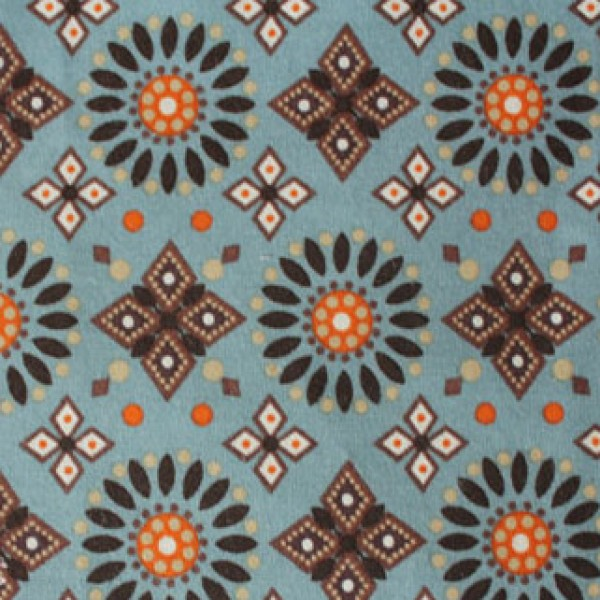 Vera Bradley fabric Remnant 100% Cotton Canyon Lining 1 Yard