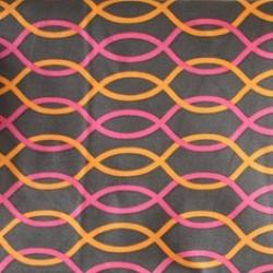 Vera Bradley fabric Remnant 100% Cotton Jazzy blooms Lining 1 Yard
