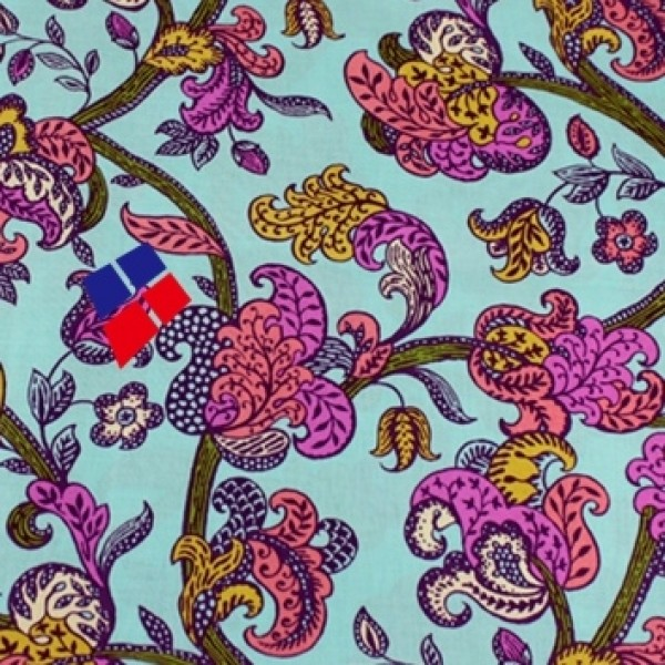 Vera Bradley 2017 new fabric Remnant 100% Cotton 1 Yard