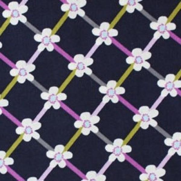 Vera Bradley fabric Remnant 100% Cotton Floral Nightingale lining 1 Yard