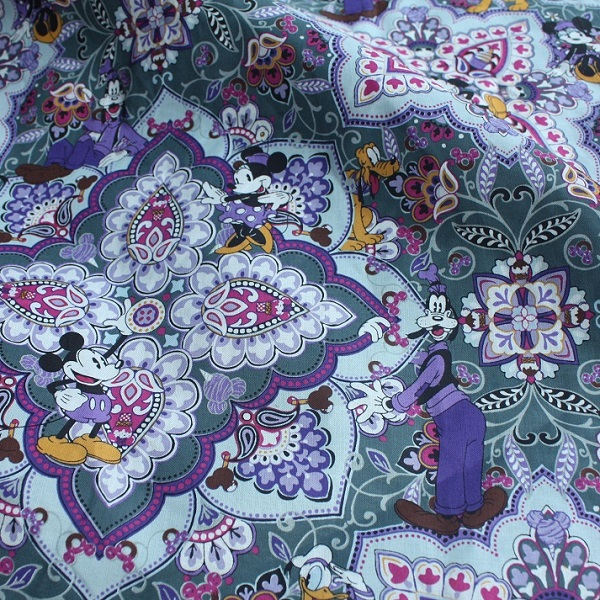 Vera Bradley Disney Mickey's Sweet Treats Fabric