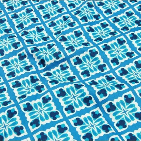 Vera Bradley New Disney Fabric Linig Remnant 100% Cotton 1 Yard