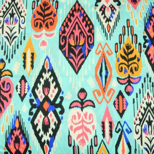 Vera Bradley Pueblo Fabric Remnant 100% Cotton 1 Yard